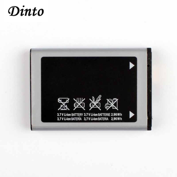 Dinto 1pc 800mAh AB463446BU Mobile Phone Battery for Samsung SGH-E210 E500 E900 F250 X150 X300 C3300K X208 B189 B309 F299 image