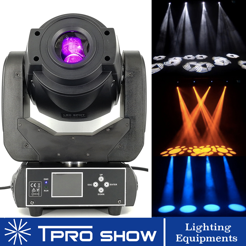 Dmx 512 Moving Head 90W Spot Beam Prism Disco Lamp for Party Stage DJ MH90 2 Model Optional