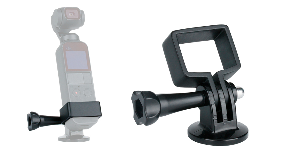 DJI Osmo Pocket Clamp Holder Kit OP-3 Extension Fixed Stand Bracket Holder w Charging Base Mount, Osmo Pocket Gimbal Accessories 5