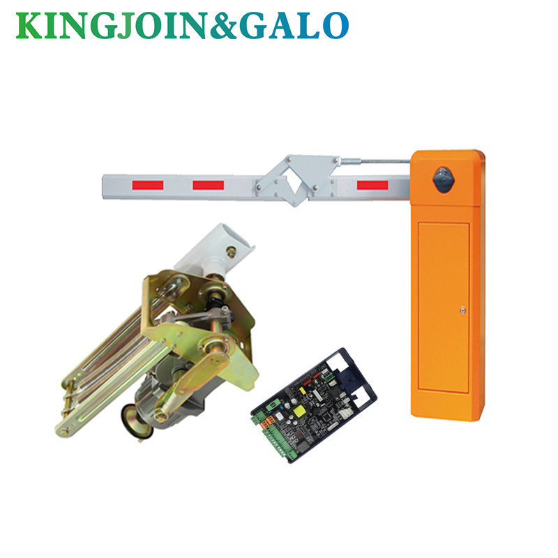 Parking Lot Automatic Remote Control And Folding 90 Degree Automatic Door