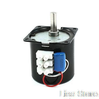 60KTYZ 60mm Diameter Synchronous Reduction Geared Motor 220/240VAC 20RPM 14W  цены