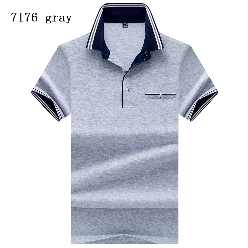 White POLO Shirt Men 2019 Brand-Clothing Solid Color Polo Top Quality Summer Casual Men Short Sleeve Polo Shirt