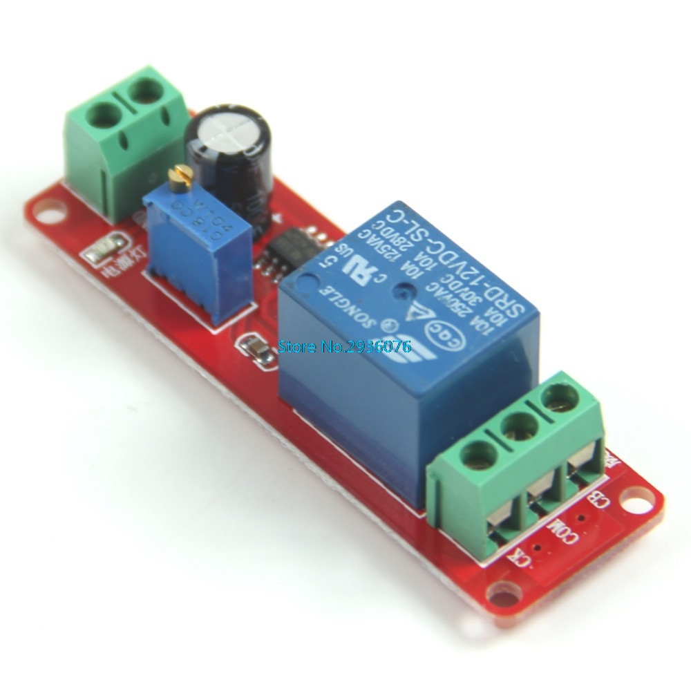 12vdc Delay Timer Switch Adjustable Module 0 To 10 Second Apr12 30 Electronic Circuit In Relays From Home Improvement On Alibaba Group