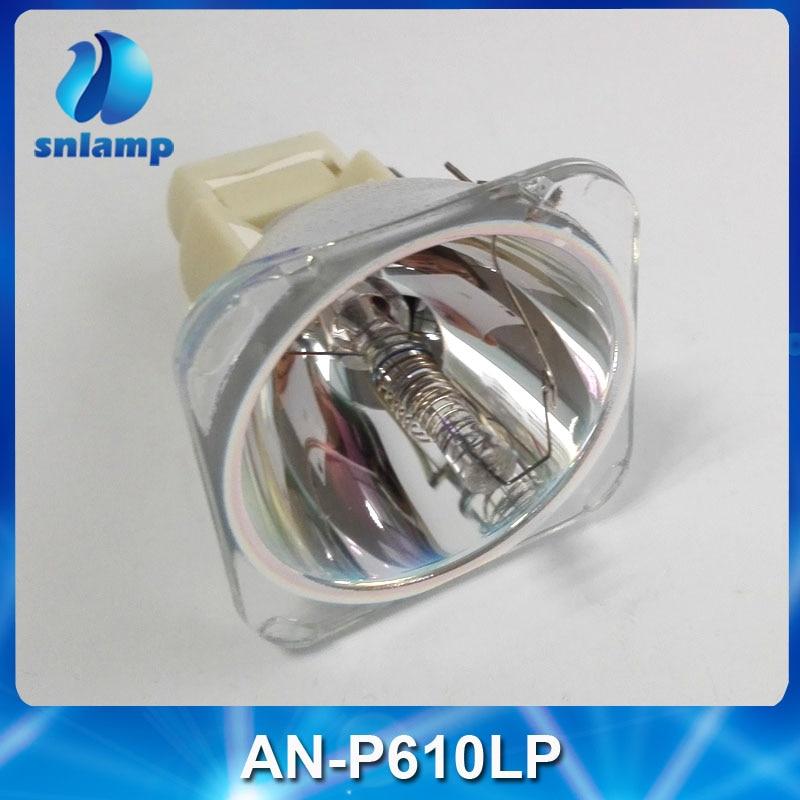 Original Projector Lamp Bulb AN-P610LP for EIP-WX5000/EIP-WX5000L projector lamp for saville av ss 1200 bulb p n an b10lp 130w shp id lmp2876
