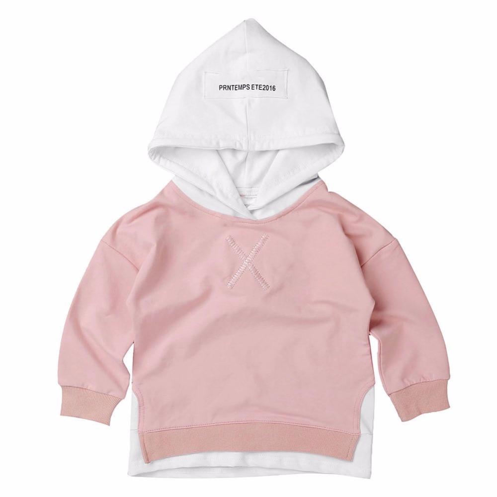 Children Boys Girls Hooded Sweatshirts Spring Autumn Hoodies For Children Outerwear Kids Long Sleeve Clothes