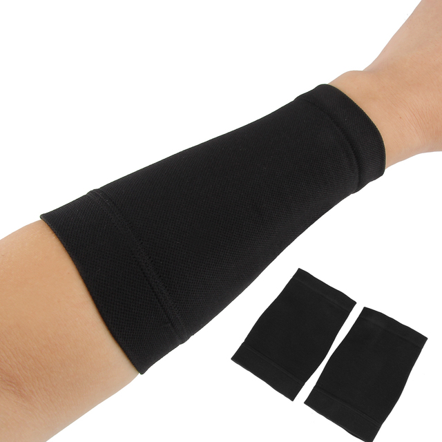1 Pair 95*100*135mm Tan Arm Tattoo Sleeves Covers Up Sleeves Forearm ...