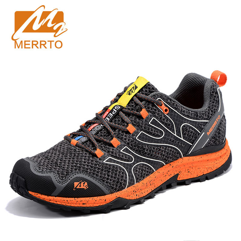 MERRTO men's outdoor Air Running Shoes Sport Sneakers Male Breathable Mesh Athletic damping Chusion Shoes anti-skid light-weight 2017brand sport mesh men running shoes athletic sneakers air breath increased within zapatillas deportivas trainers couple shoes