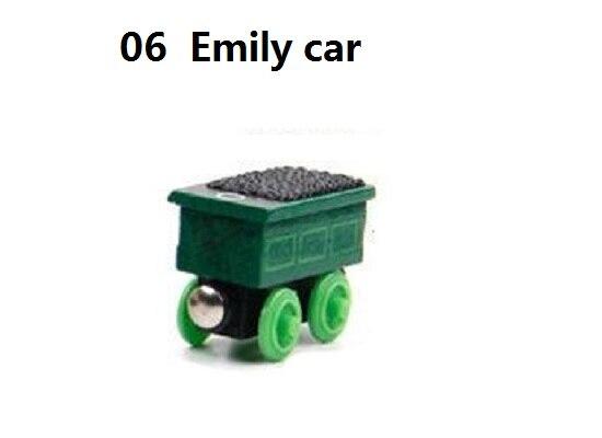 Деревянные магнитные паровозики, игрушки для железной дороги, деревянные паровозики для детей, подарок для детей, модель поезда - Цвет: Хаки