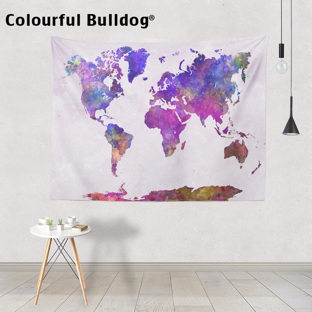 Watercolor world map tapestry 4k pictures 4k pictures full hq charmhome watercolor world map printed tapestry wall hanging hippie charmhome watercolor world map printed tapestry wall hanging hippie polyester tapestry gumiabroncs Gallery