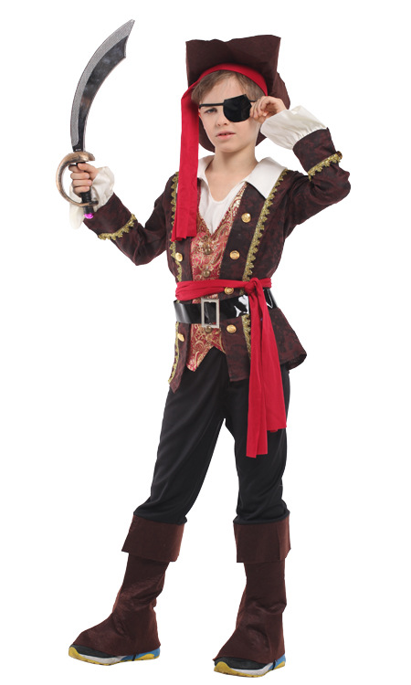 captain jack sparrow pirate costume cosplay halloween costume for kids fancy dress carnival costumes for children boys-in Boys Costumes from Novelty ...  sc 1 st  AliExpress.com & captain jack sparrow pirate costume cosplay halloween costume for ...