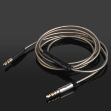 цена на OKCSC 8 Cores Replacement Cable for Solo2 HD50SHP9500 Beats meizu SONY 3.5mm AUX Headphone Cable with Mic