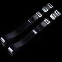 1 Pair Clear Bra Strap Adjustable Invisible Bra Strap Silicone Transparent Bra Strap Women Bra Strap Intimates Accessories