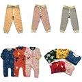 Bobozone o suéter listrado as calças listradas meninos meninas do bebê de malha crianças roupas bobo choses nununu topo