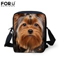 FORUDESIGNS Cute Yorkshire Terrier Dog School Bags for Girls Boys Children Schoolbag Kindergarten Baby Bookbag Kids Mini Mochila