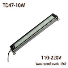 HNTD 10W Led Panel Light  AC220V LED Metal work light CNC machine work tool lighting TD47 Waterproof  IP67 Free Shipping