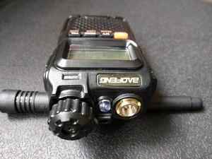 Image 4 - 2pcs Baofeng UV 3R plus walkie talkie Dual Band Two Way Radio HF Transceiver uv 3r Handy Ham Radio For Hunting Pofung UV3R+