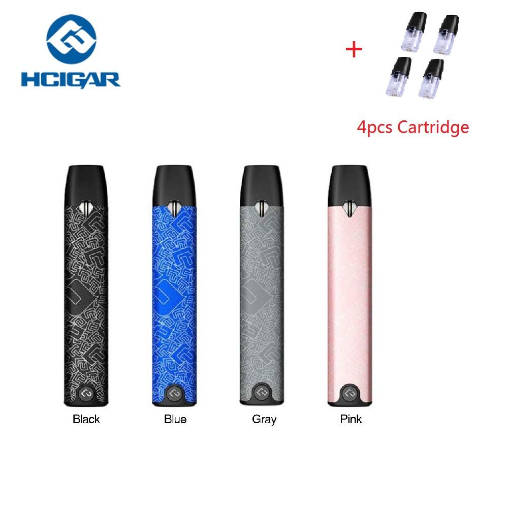 Original 350mAh Hcigar Akso Pod Kit with Ceramic Coil 1.8ohm & 1.5ml Pod Capacity No Button Design Fully Charged In 1.5 Hours iwhd iron metal industrial wall light fixtures home lighting loft style edison vintage wall lamp sconce luminaire lampara pared