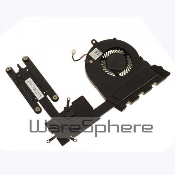 new  for clevo P950hp ER HR P955ER cpu fan+GPU fan heatsink 4 wires