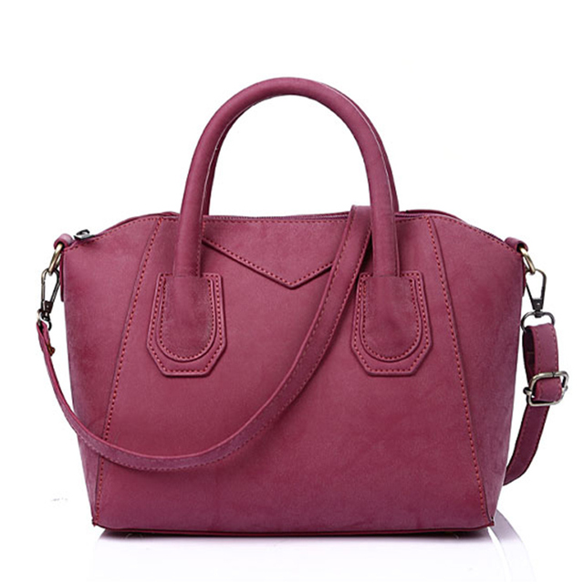 c67ded45fa9f 2018 New Arrival Women Leather Shoulder Bag Frosted PU Bag Female Handbags  Girl Messenger Bags High Quality