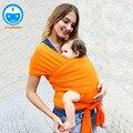 2016 Горячие младенческая baby перевозчик слинг младенческой ребенка обертывания новорожденный обертывания кенгуру обертывания дети подтяжки BD33