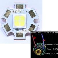 2015 NEW 1 Set Cree XLamp XHP70 6 12V LED Emitter 4022lm 32W White 6000K LED
