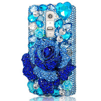 For G2 G3 Rhinestone Case For LG G6 Luxury Glitter Bling Crystal Diamond Protective Cover For