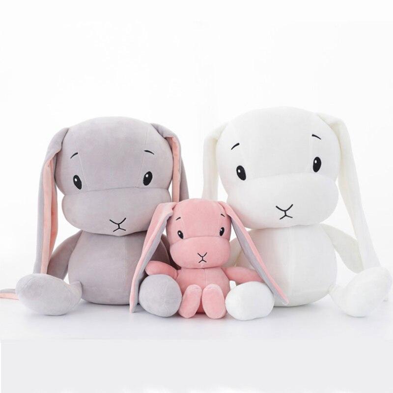 2018 New 50CM Cute rabbit plush toys Bunny Stuffed Plush Animal Baby Toys 30CM doll baby accompany sleep toy gifts For kids2018 New 50CM Cute rabbit plush toys Bunny Stuffed Plush Animal Baby Toys 30CM doll baby accompany sleep toy gifts For kids