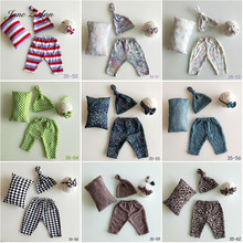 Jane Z Ann Newborn photography prop sets baby hat pants