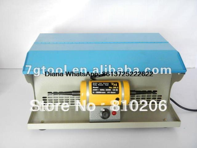 Promotion!!! Polishing Machine with Dust Collector,A Strong Suction Unit And Two Spindles
