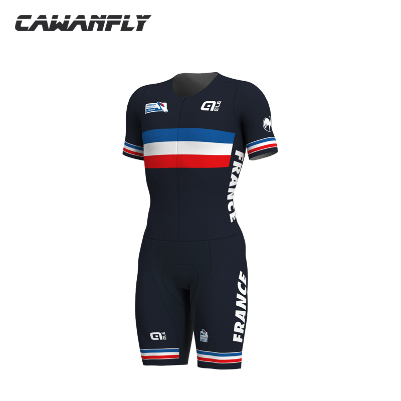 2018 new pro team Womens Triathlon Short Cycling Jersey Skin suit triathlon suit One piece Bike Bicycle Ale Cycling Clothing