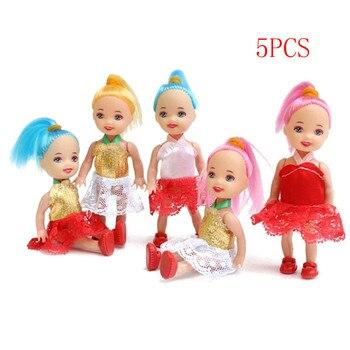 5 шт. популярные модные куклы, игрушки для девочек, куклы, супер милые маленькие куклы, игрушки для детей, оптовая продажа, 10 см