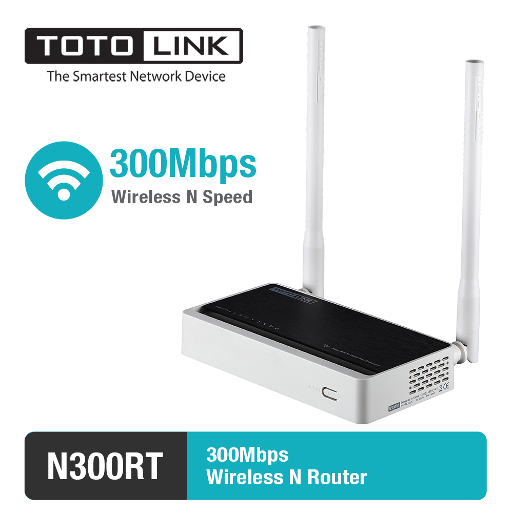 TOTOLINK N300RT WiFi Router / WiFi Repeater / Dostopna točka podpira VLAN IPTV z angleško in rusko programsko opremo