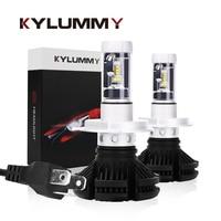 KYLUMMY LED Headlight Car Bulbs H1 H3 H4 H7 H11 H27 880 9004 LED Headlamp 12000LM