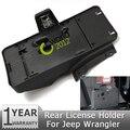 Сзади Хвост Авто Номерной знак Держатель Установки Кронштейн Fit С 12 В Свет Лампы Для Jeep Wrangler Unlimited JK 2007 ~ 2014 68064720AA