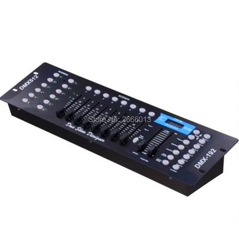 Ex-factory price DMX 192 controller, for stage lighting dmx console DJ controller equipment led flat par moving head light free shipping new dmx240 dmx controller stage lighting dj equipment dmx console for led par moving head spotlights dj controller
