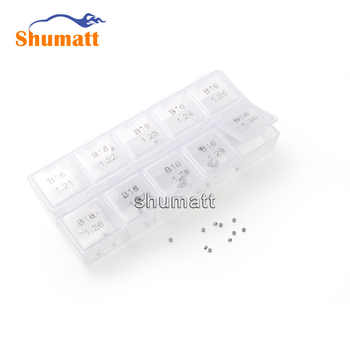 100pcs Common Rail Parts Brand 120 Series Fuel Injector Valve Assy Adjustment Washer Shims B16 D Thickness Range 1.21-1.30mm