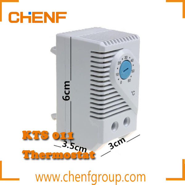 free shipping small size industrial room exhaust fan thermostat compact mechanical thermostat temperature controller