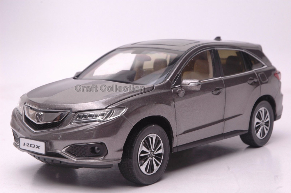 * Brown 1:18 Honda Acura RDX 2016 Luxury SUV Diecast Model Show Car Miniature Toys Alloy Gifts Collection Minicar