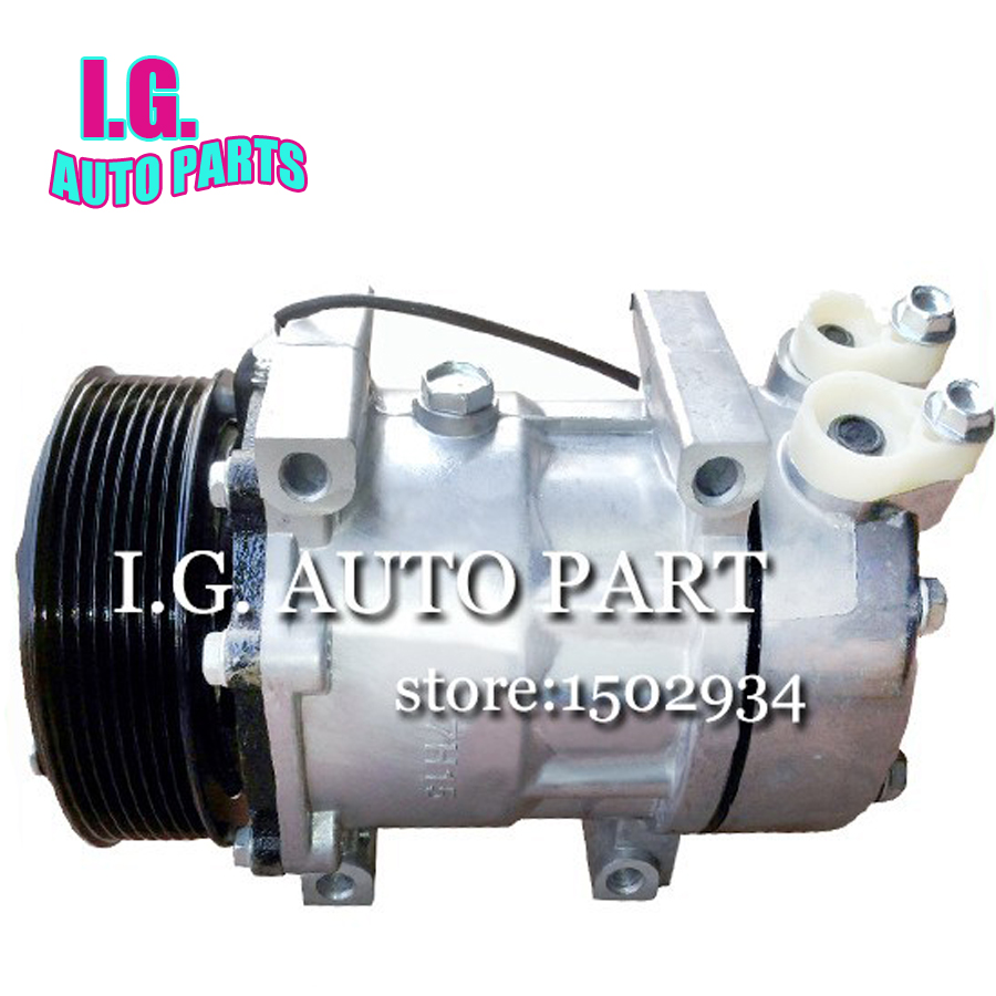 SD7H15 AC compresseur 8295 (24 volts) avec 10PV SCANIA P, G, R, T série G360-440 série P360-480 R360-480 1531196 1888032