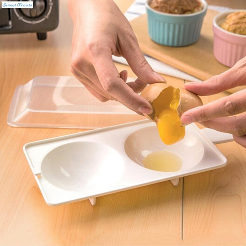 ᓂSweettreats dos huevos Poacher sandwich desayuno material plástico ...