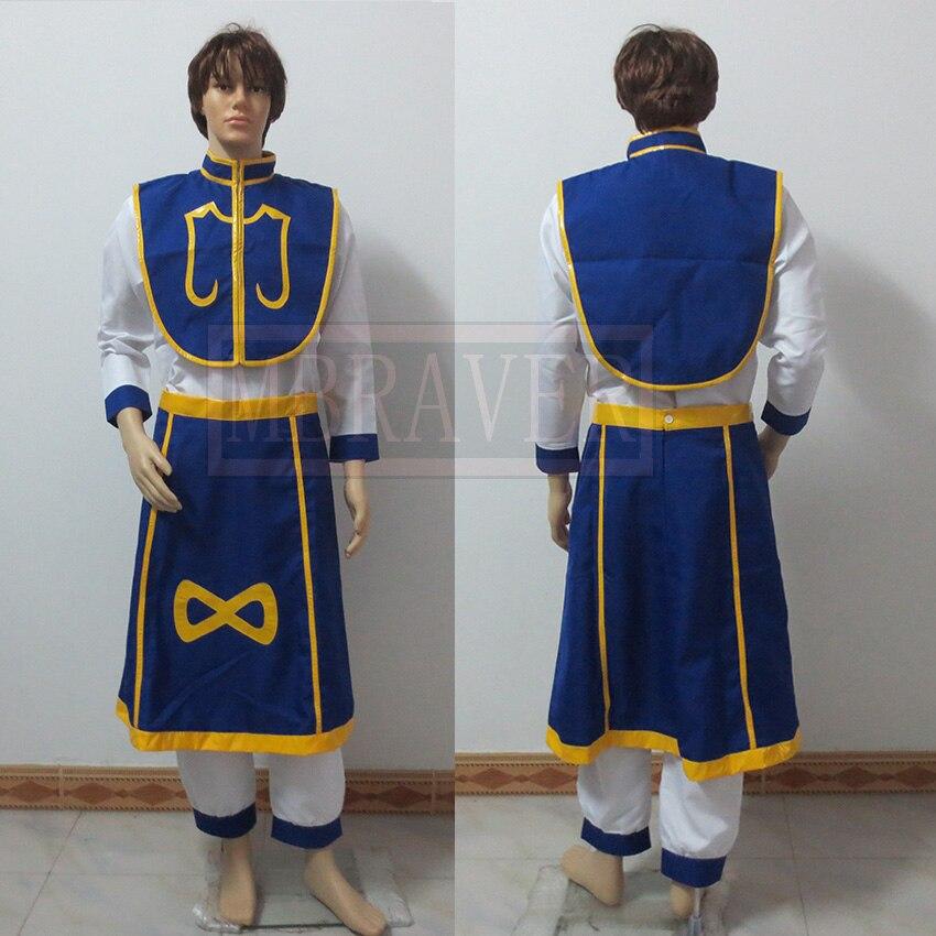 Anime Hunter x hunter Cosplay Kurapika Costume Custom Made Any Size
