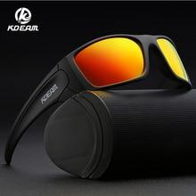 KDEAM 2019 New Goggles Sunglasses TR90 Flexible Men Windproof Glasses Women Bicycles Half Rim Eyewear KD555