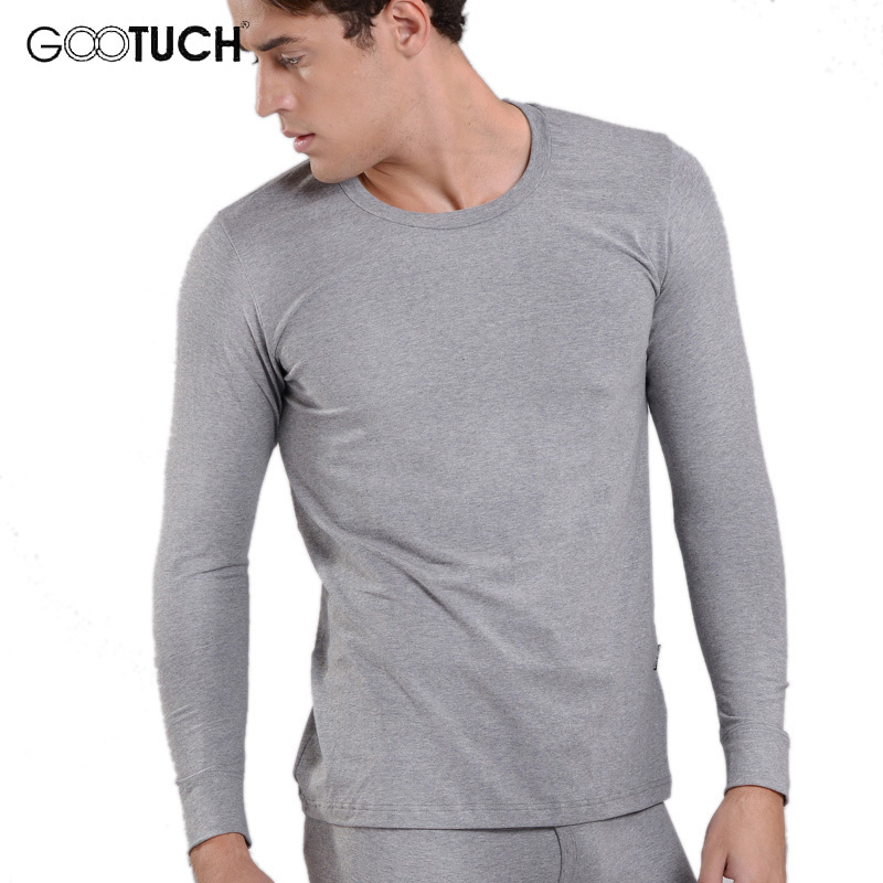 Winter Brand Mens Thermal Underwear Cotton  Long Johns Round Neck Long Sleeve Tops 4XL 5XL 6XL Plus Size Ondergoed  G-019