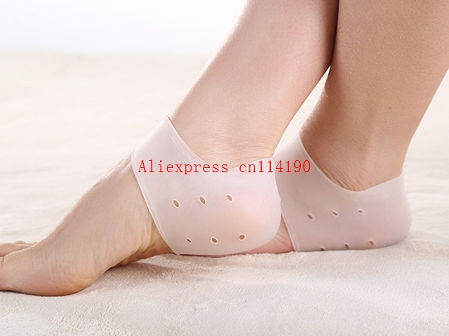Brand new Silicone Gel Heel Socks Orthopedoc supplies Moisturizing Anti-slip Maintenance Cracked Foot Skin Care Protectors Tool