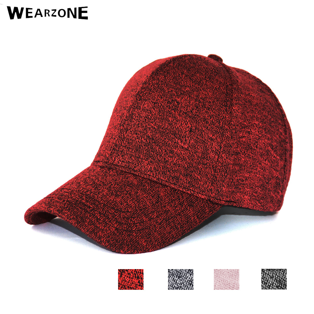 5315dc1b419 Wearzone Fashion Warm Winter Knitted Baseball Cap With Ears Women S Cotton  Hat Brand Snapback Winter Hats Ear Flaps For Men Hat-in Baseball Caps from  Men s ...