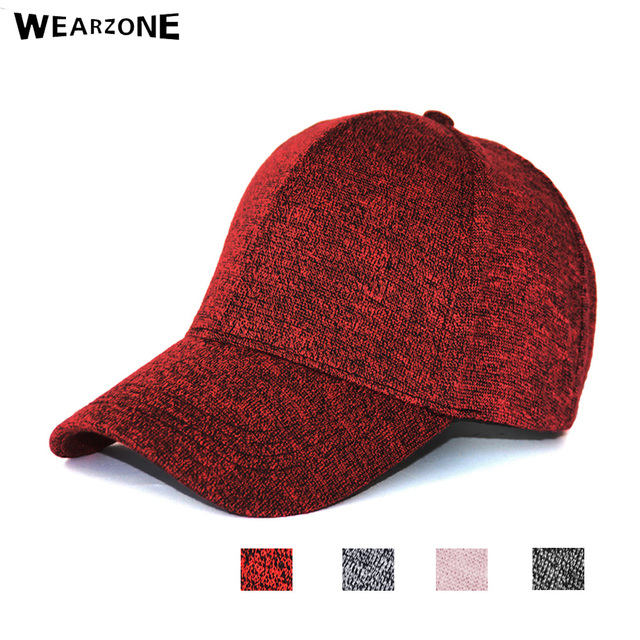 Wearzone Fashion Warm Winter Knitted Baseball Cap With Ears Women'S Cotton Hat Brand Snapback Winter Hats Ear Flaps For Men Hat