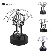 Newton Pendulum/Permanent Ball Figurine Miniatures Steel Balance Ball Home Decoration Child Physics Science Education Ornament