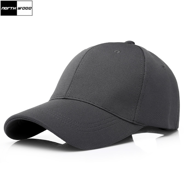 32cf5b70683e8  NORTHWOOD  2018 Solid Baseball Cap Men Snapback Trucker Cap High Quality  Black Cap Outdoor
