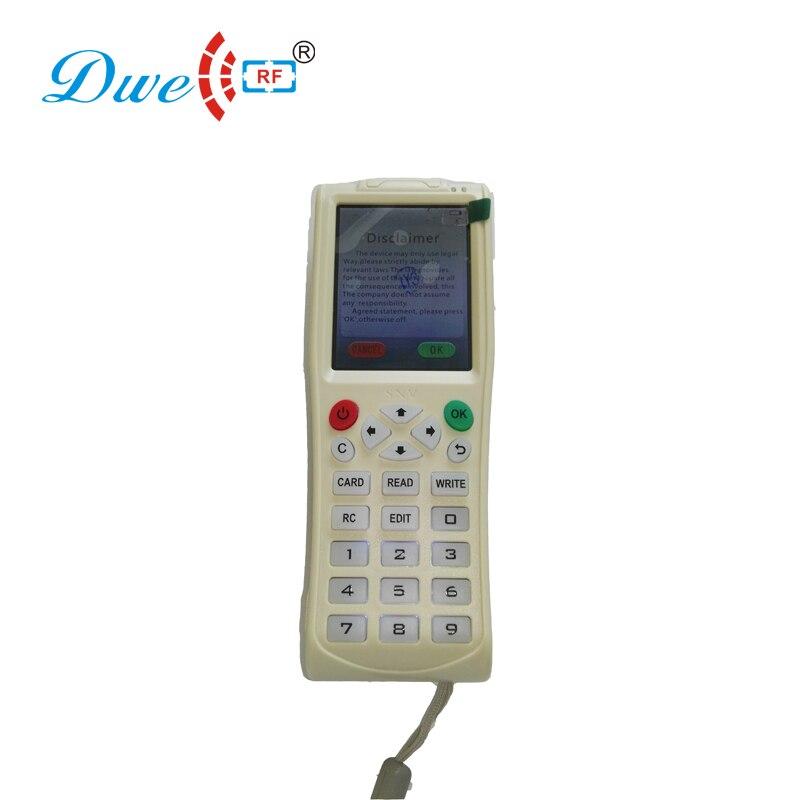 DWE CC RF icopy3 en plastique double de clé clonage appareils 13.56 mhz carte de contrôle d'accès cloner rfid copieur carte à puce encodeur