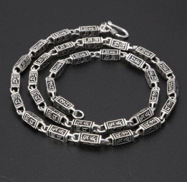 long necklace letter necklaces chain men silver 925 imitation pearls long chain necklaces
